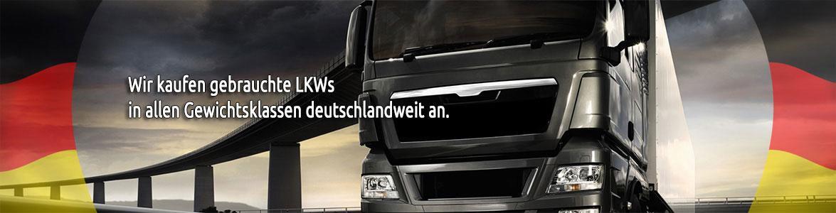 Wir kaufen gebrauchte Transporter, Busse, Nutzfahrzeuge und Lastkraftwagen in allen Gewichtsklassen deutschlandweit an.